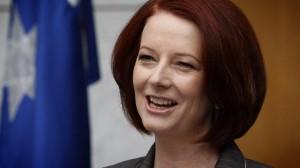 The real Prime Minister Julia Gillard