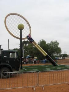 The Big Tennis Racquet, Barallen, NSW