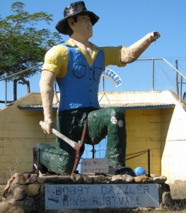 The Big Miner, Rubyvale, The Gemfields, QLD