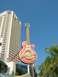 The Big Hard Rock Guitar, Surfers Paradise, QLD