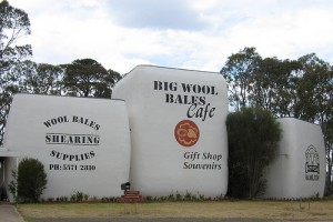 Big Wool Bales Hamilton VIC