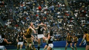 A scene from Aussie Bowl '86